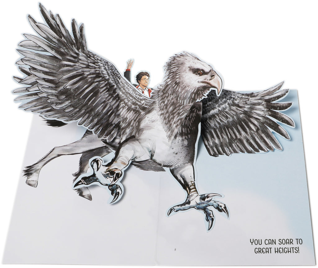 Harry Potter: Buckbeak Pop-Up Card
