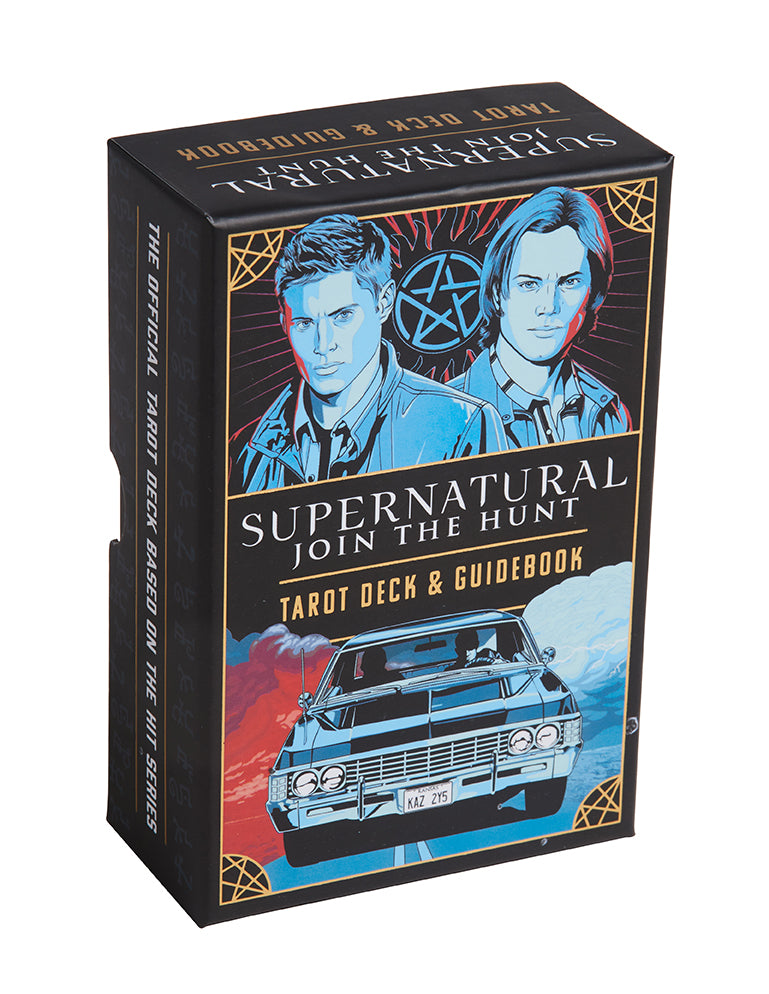 Supernatural Tarot Deck and Guidebook