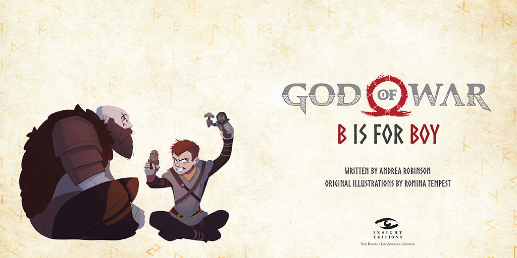 God of War: B is for Boy