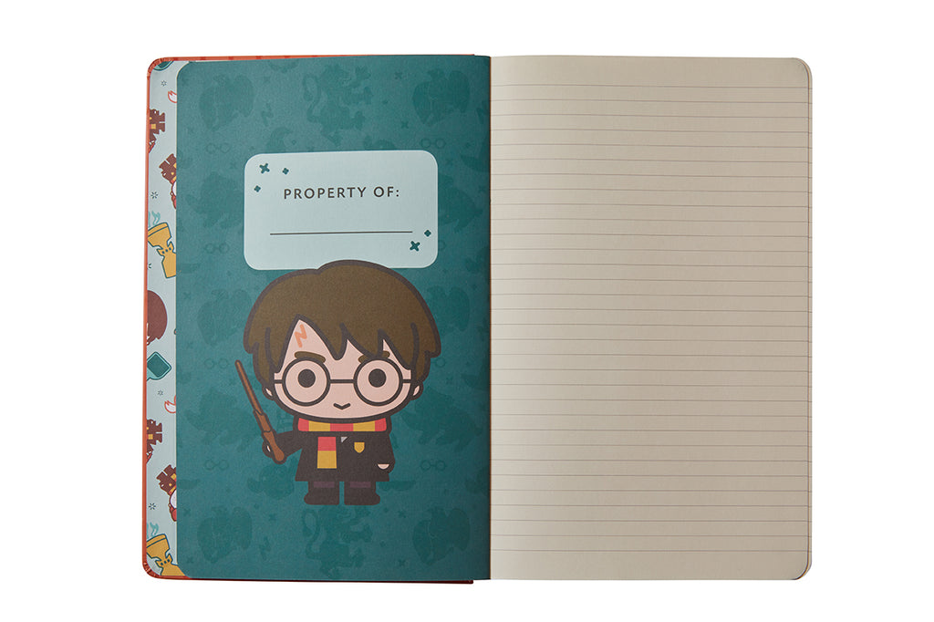 Harry Potter: Back to Hogwarts Hardcover Ruled Journal