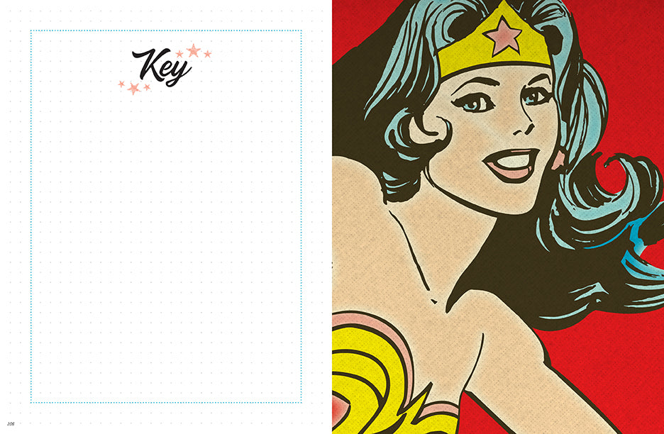 DC Comics: Vintage Wonder Woman Dot Journal