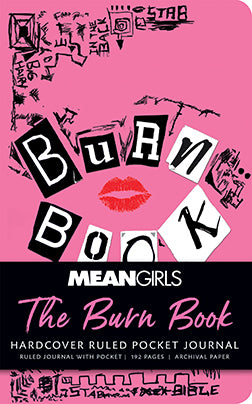 Mean Girls: The Burn Book Ruled Pocket Journal