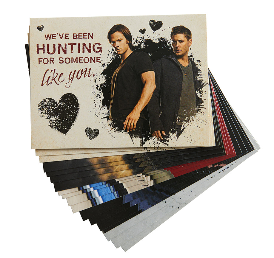 Supernatural Valentine's Day Blank Boxed Note Cards