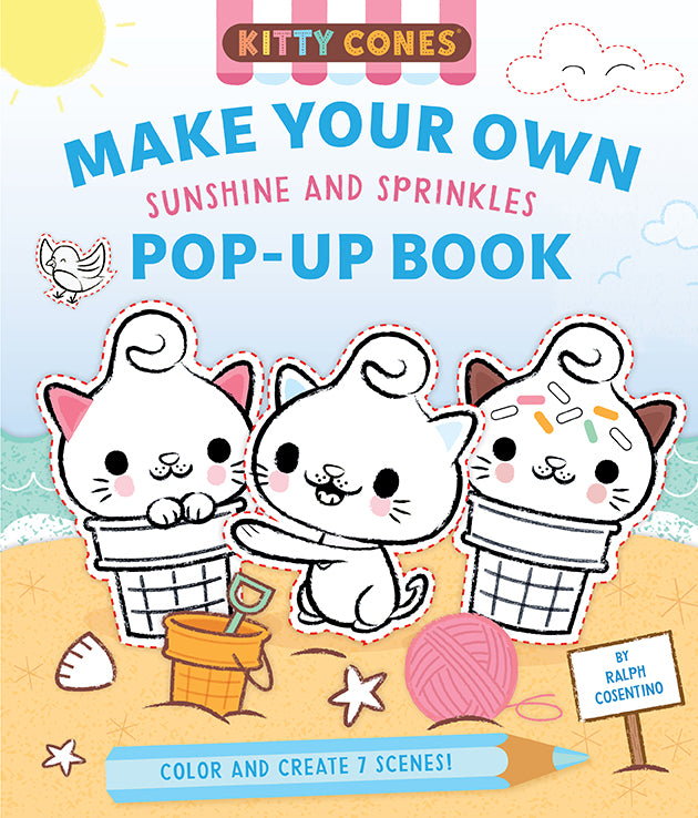 Kitty Cones: Make Your Own Pop-Up Book: Sunshine and Sprinkles