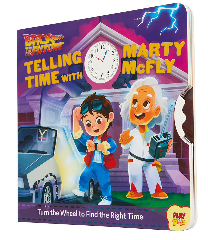 BACK TO THE FUTURE TELLING TIME MARTY McFLY BOARD BOOK