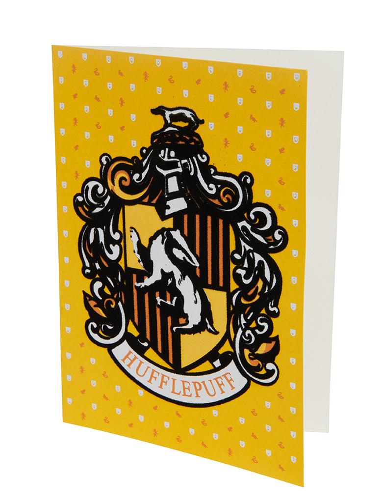 Harry Potter: Hufflepuff Embellished Card
