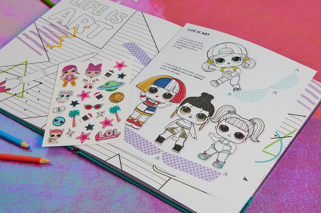 L.O.L. Surprise!: Make Your Own Pop-Up Book: Fashionably Fierce