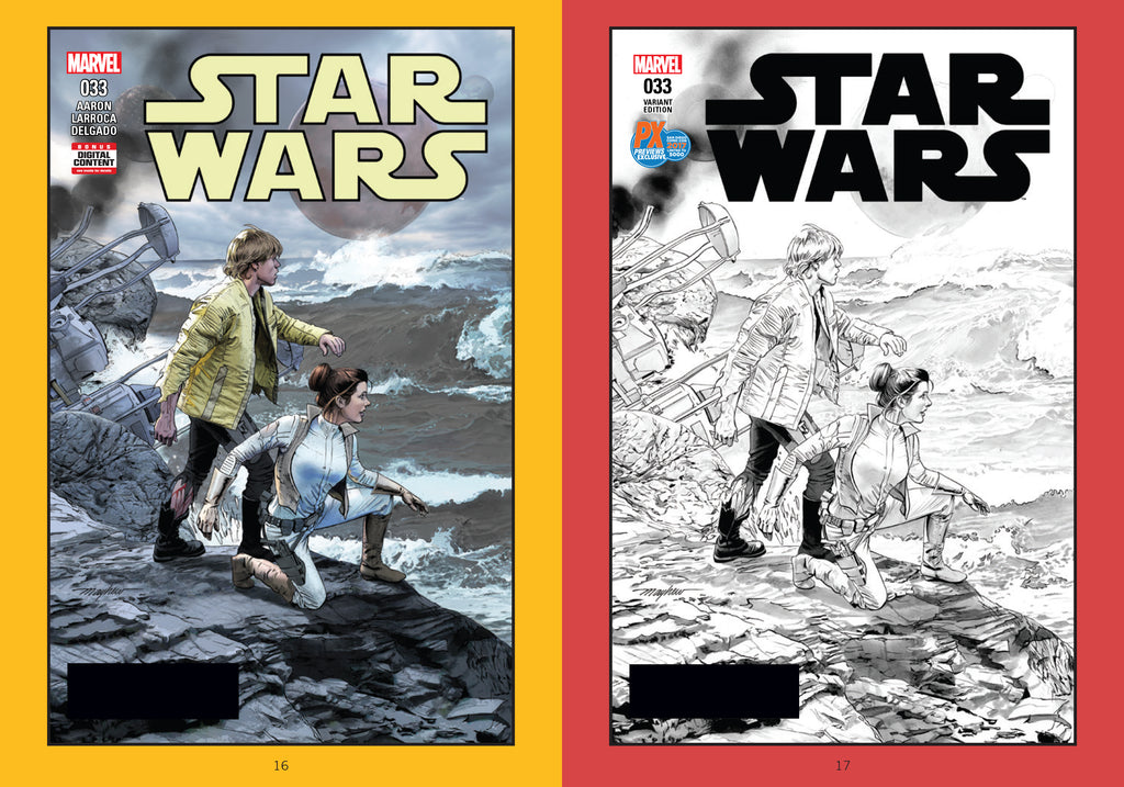 Star Wars: The Complete Marvel Comics Covers Mini Book, Vol. 2