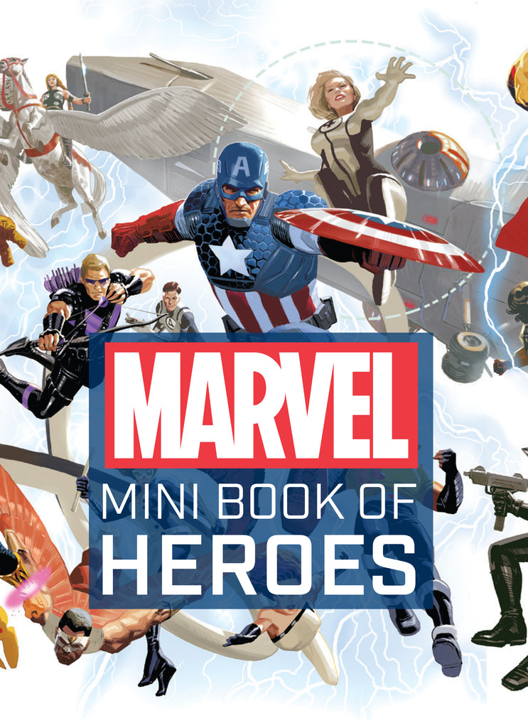 Marvel Comics: Mini Book of Heroes