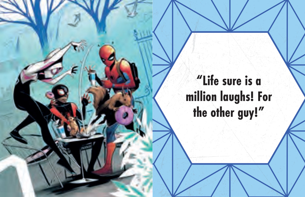 Marvel Comics: Spider-Man: Quotes and Quips from Your Friendly Neighborhood Super Hero (Tiny Book)
