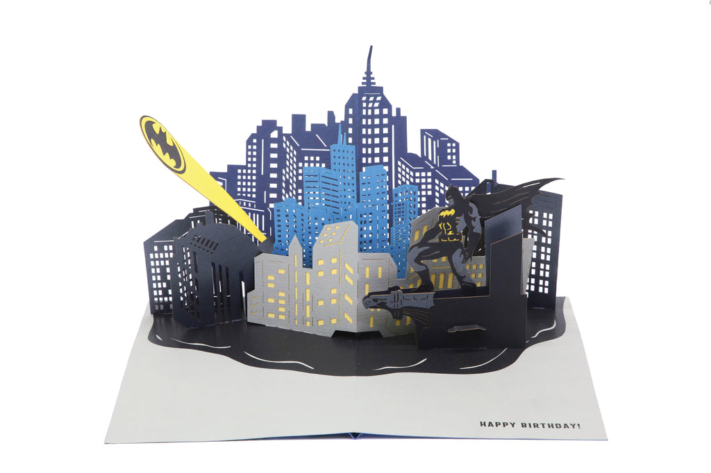 DC Comics: Batman™ Bat-Signal™ Birthday Pop Up Card