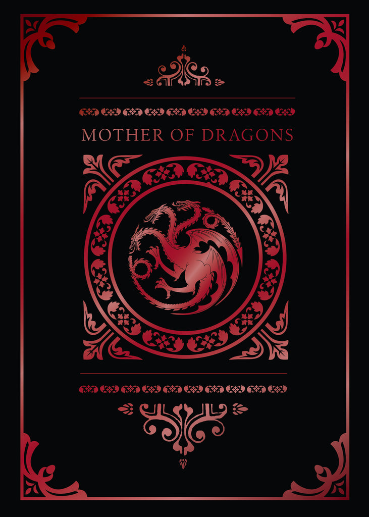 Game of Thrones: Mother of Dragons Signature Pop-Up Card