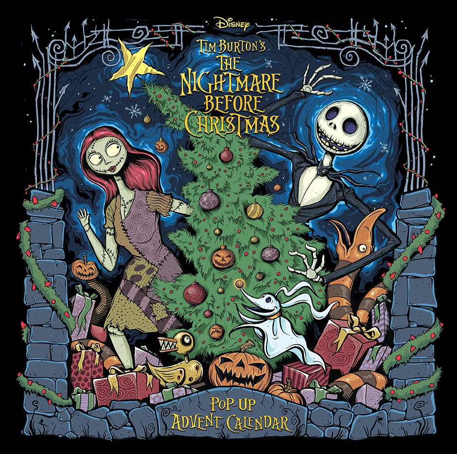 The Nightmare Before Christmas: Pop-Up Book and Advent Calendar