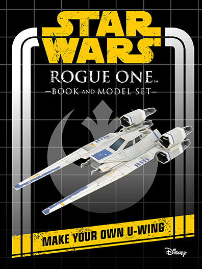 Star Wars: Rogue One Book and Model