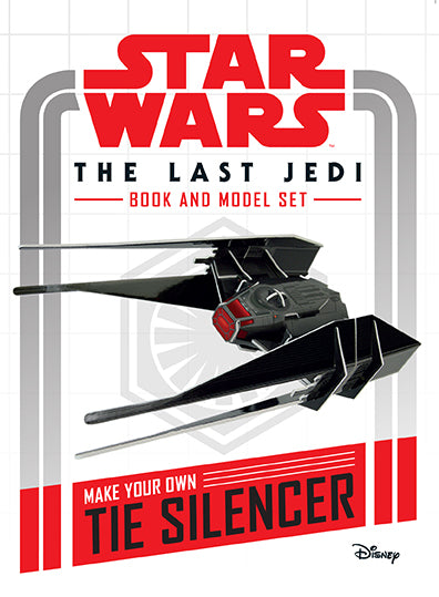 Star Wars: The Last Jedi Book and Model