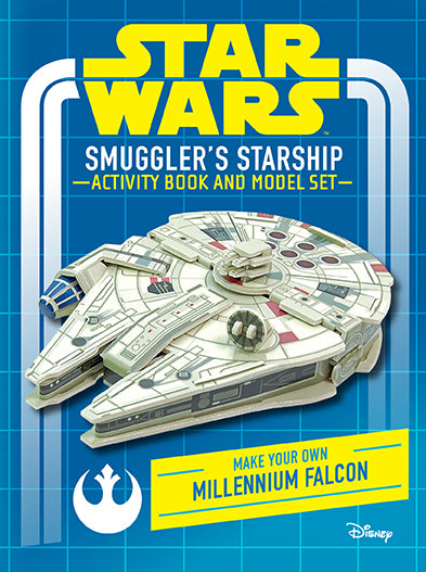 Star Wars: Smuggler's Starship Activity Book and Model