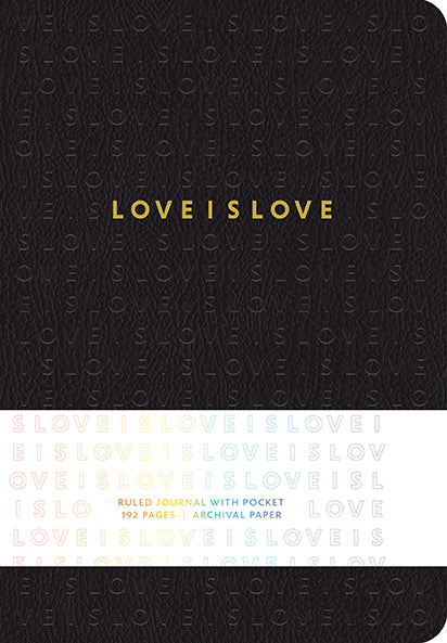 Love is Love Hardcover Ruled Journal