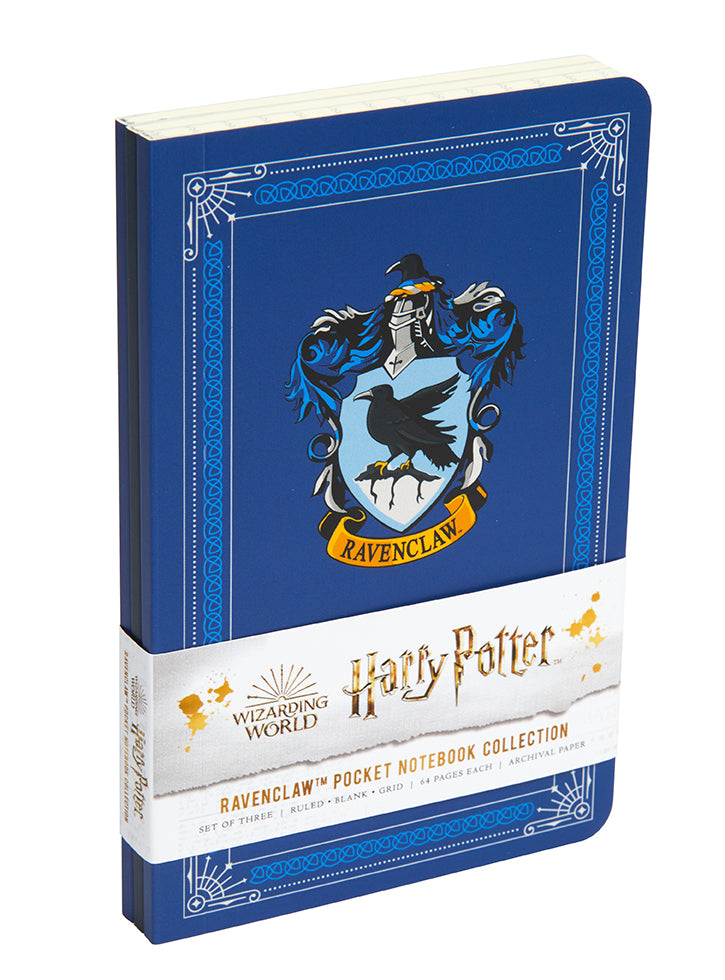 Harry Potter: Ravenclaw Pocket Notebook Collection (Set of 3)
