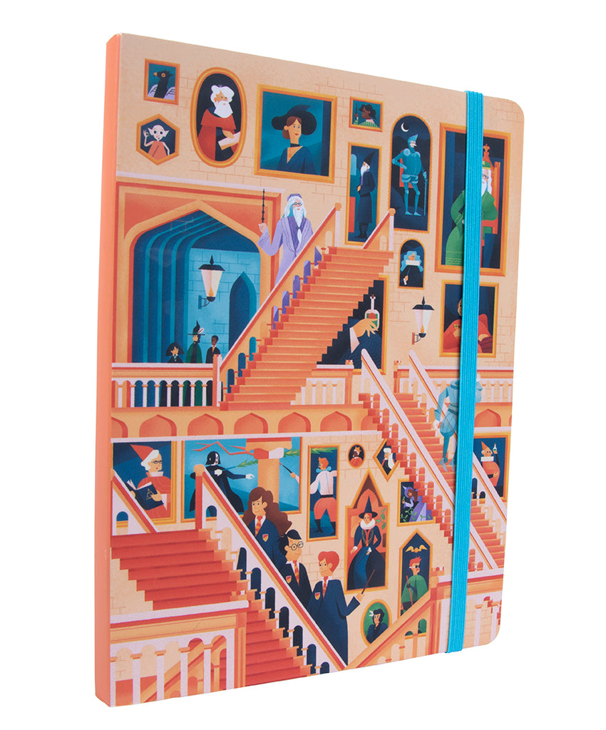Harry Potter: Exploring Hogwarts ™ The Grand Staircase Notebook