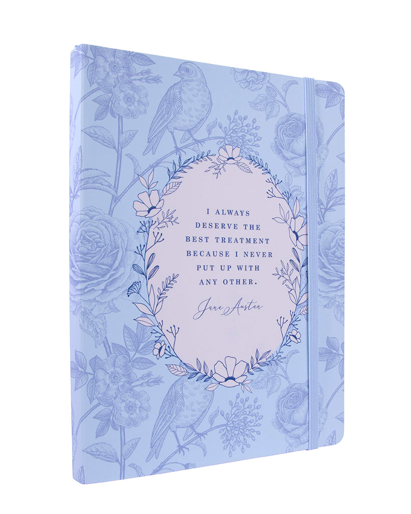 Jane Austen: I Deserve the Best Treatment Softcover Notebook