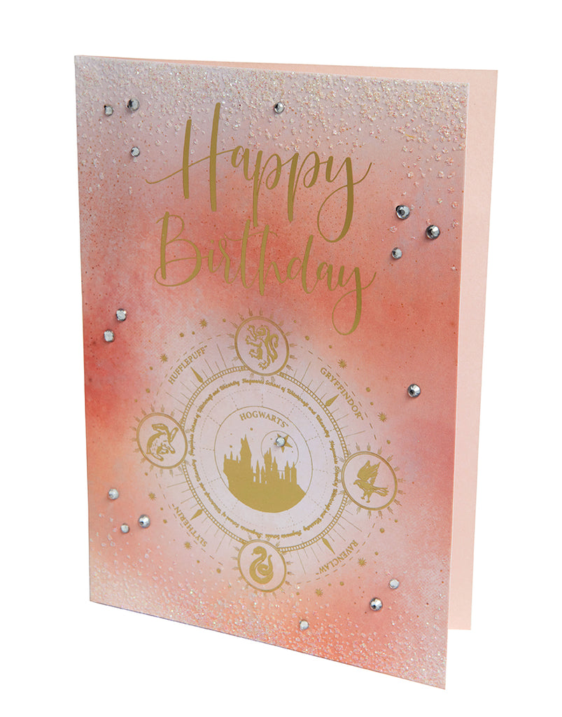 Harry Potter: Hogwarts Constellation Birthday Embellished Card