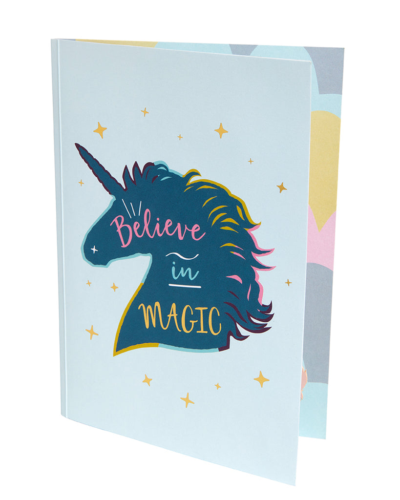 Unicorn Signature Pop-Up Card