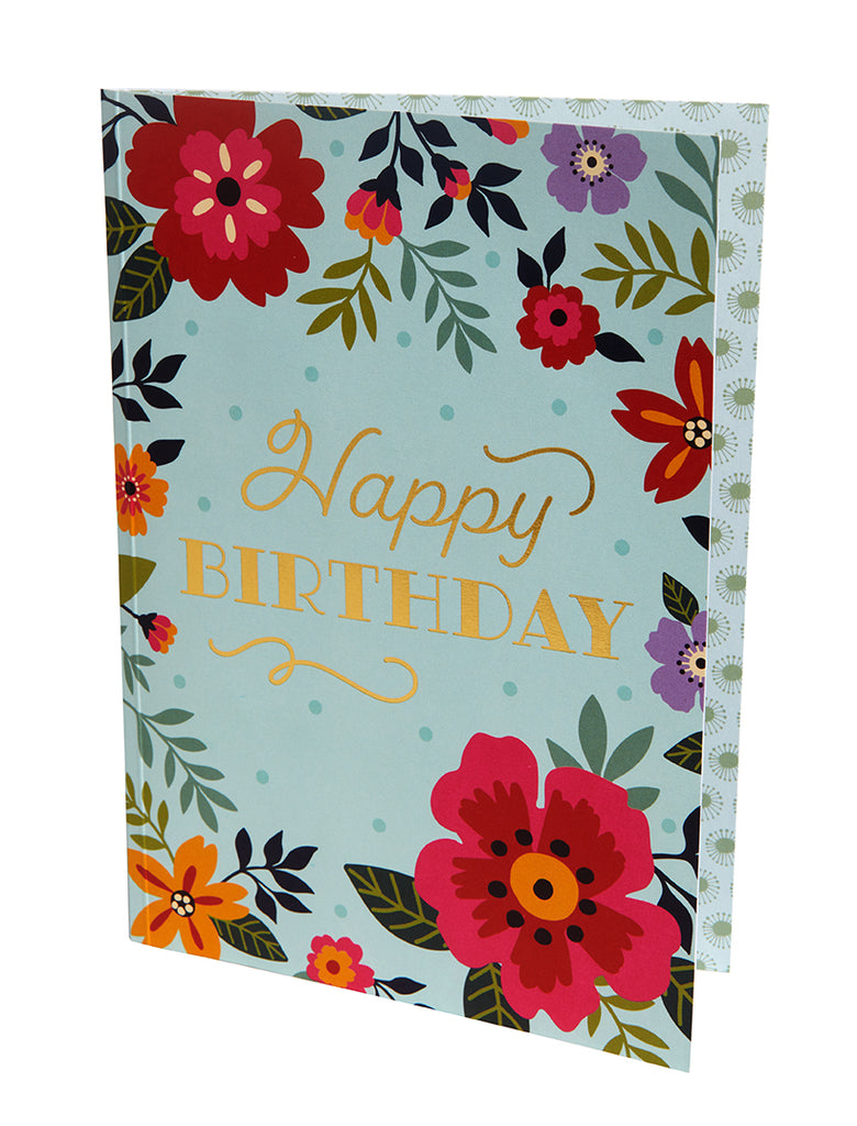Floral Signature Pop-Up Card [Birthday]
