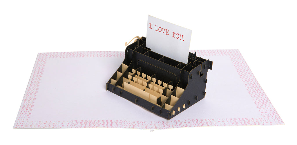 Love Note Signature Pop-Up Card