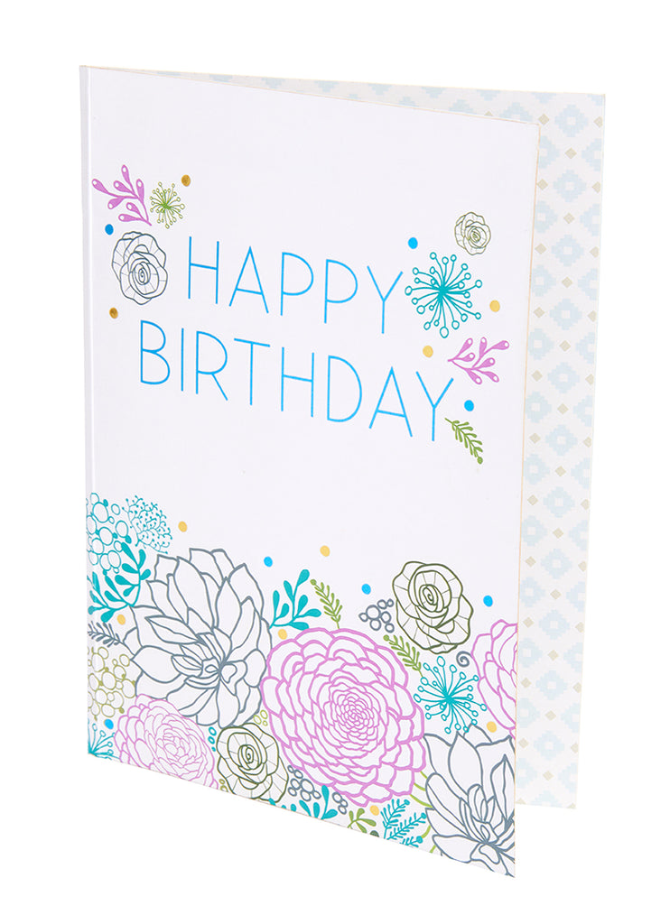 Succulent Signature Pop-Up Card [Birthday]