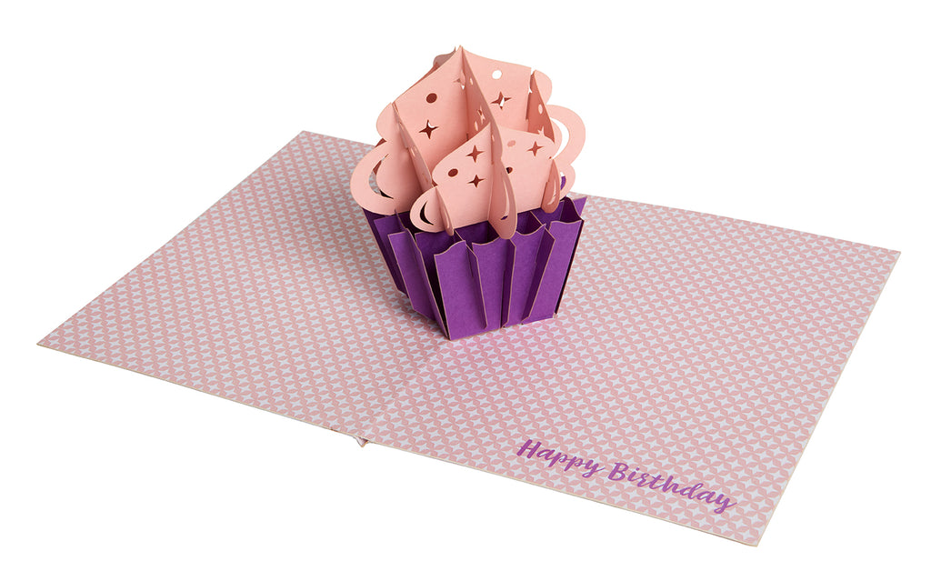 Cupcake Signature Pop-Up Card