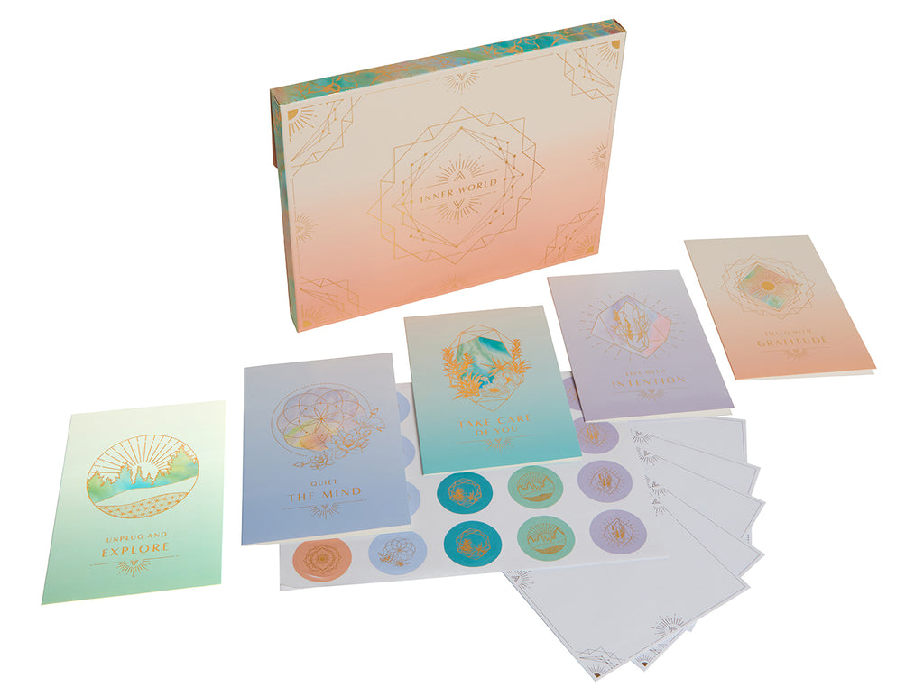 Inner World Card Portfolio Set (Set of 20 Cards)