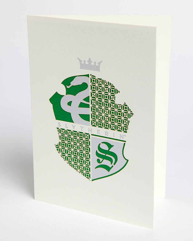 Harry Potter: Slytherin Die-Cut Card