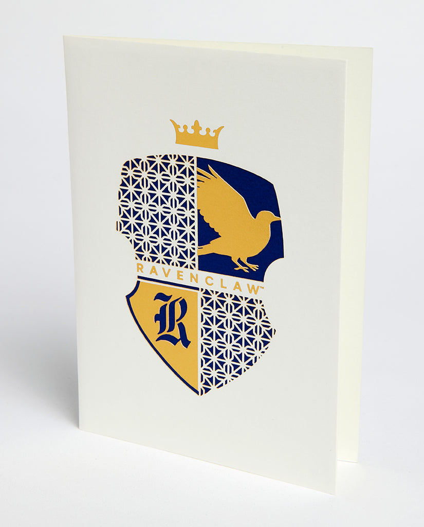 Harry Potter: Ravenclaw Die-Cut Card