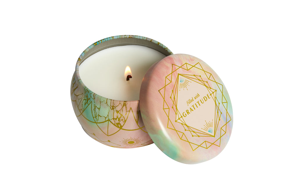 Gratitude Scented Tin Candle