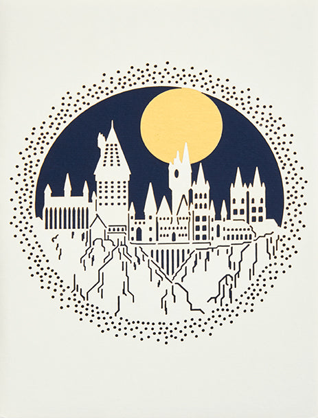 Harry Potter: Hogwarts Laser Die-Cut Card