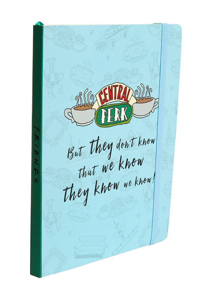 Friends: Central Perk Softcover Notebook