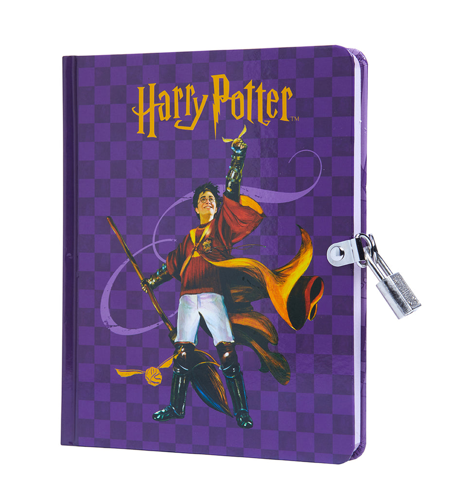 Harry Potter: Quidditch Lock & Key Diary