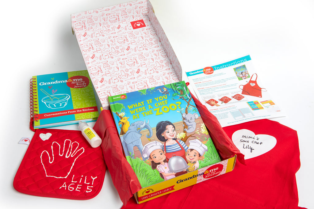 Grandma and Me: In the Kitchen Activity Kit