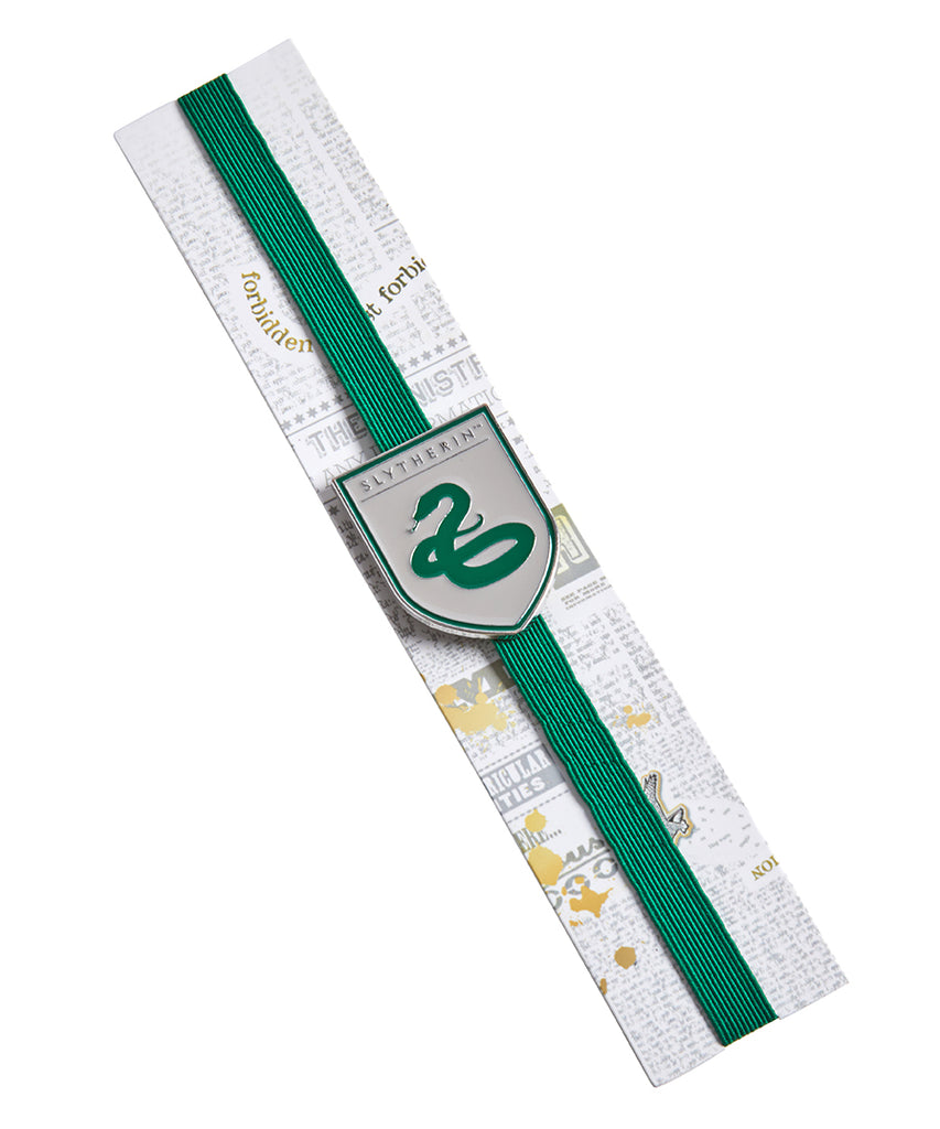 Harry Potter: Slytherin Enamel Charm Bookmark