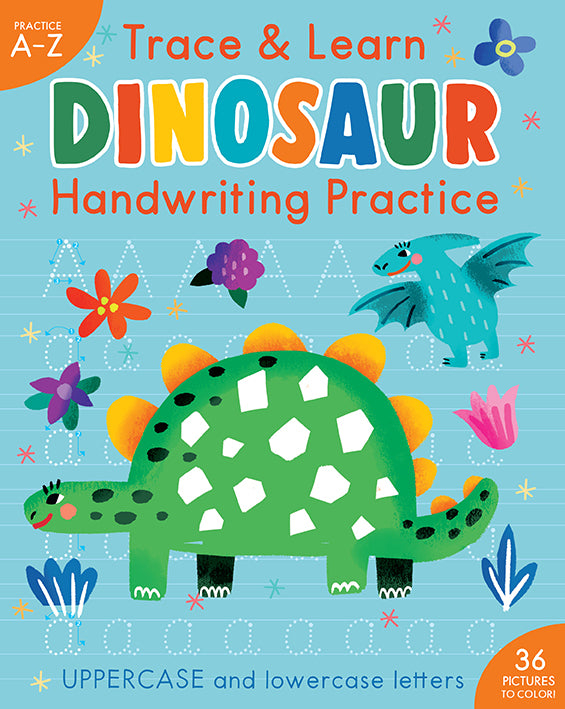 Trace & Learn Handwriting Practice: Dinosaur