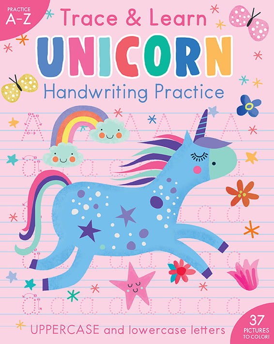 Trace & Learn Handwriting Practice: Unicorn