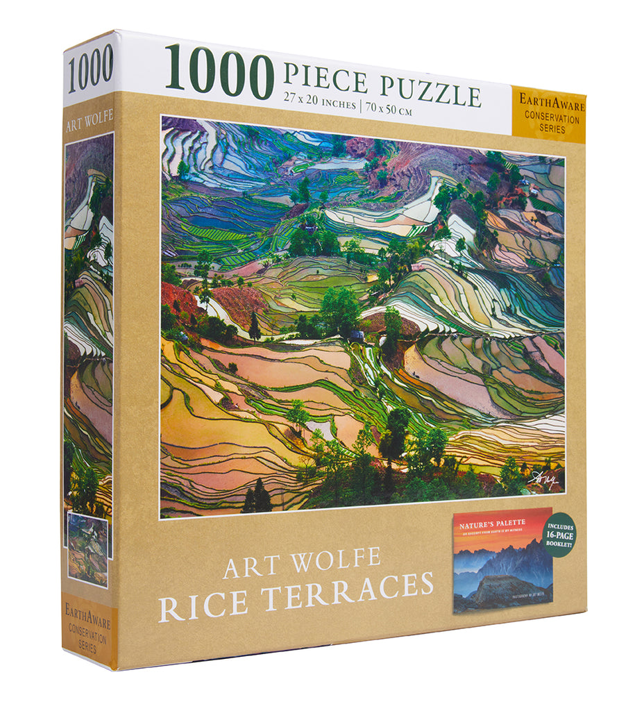 Art Wolfe: Rice Terraces