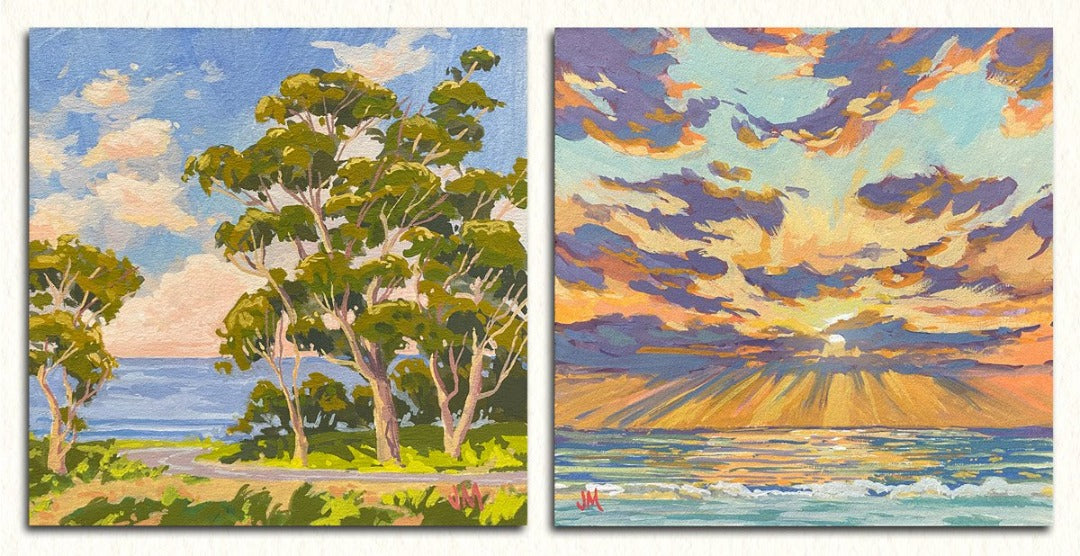 More Gouache Studies each at 5