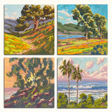 "Load image into Gallery viewer, Gouache Studies each at 5"" x 5"""