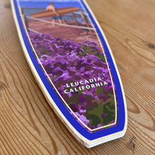 Load image into Gallery viewer, Surf Beacon's Giclée Print on Surfboard Shape