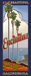Visit Beautiful Encinitas California Giclée on Canvas