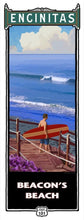 Load image into Gallery viewer, Beacon's Beach Giclée on Canvas