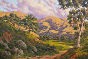 "California Hill Country Commission 36"" x 24"""