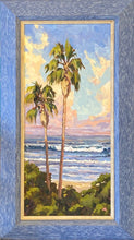 "Load image into Gallery viewer, Cardiff Reef Morning Light Original Oil 8"" x 16"""