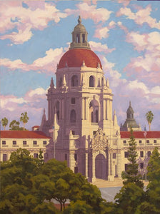 "Pasadena City Hall 36"" x 48"